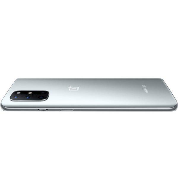 OnePlus 8T 5G (Lunar Silver, 8GB RAM, 128GB Storage)