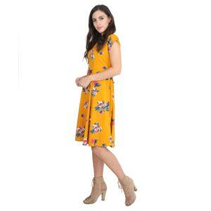 LookMark Women's Knee Length Dress