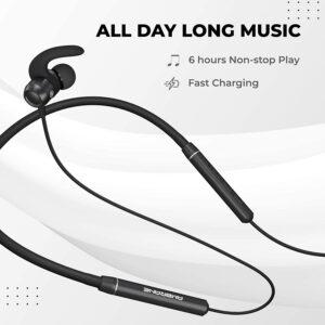 Ambrane BassBand Lite Bluetooth Neckband Earphones