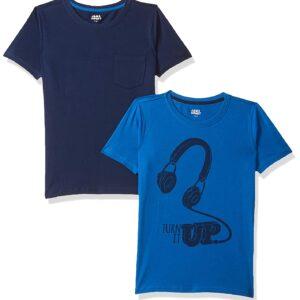 Amazon Brand – Jam & Honey Boy's Regular Fit T-Shirt