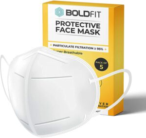 Boldfit AS9500 mask for face, Anti Pollution, protective.