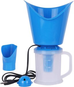 Dr. Korpet® 3 in 1 Vaporizer steamer for cough and cold kids [Blue] [Make in India]
